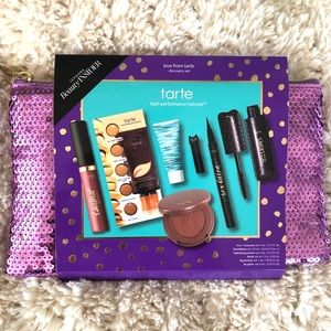 Tarte Make Up Sample with Sequin Pouch